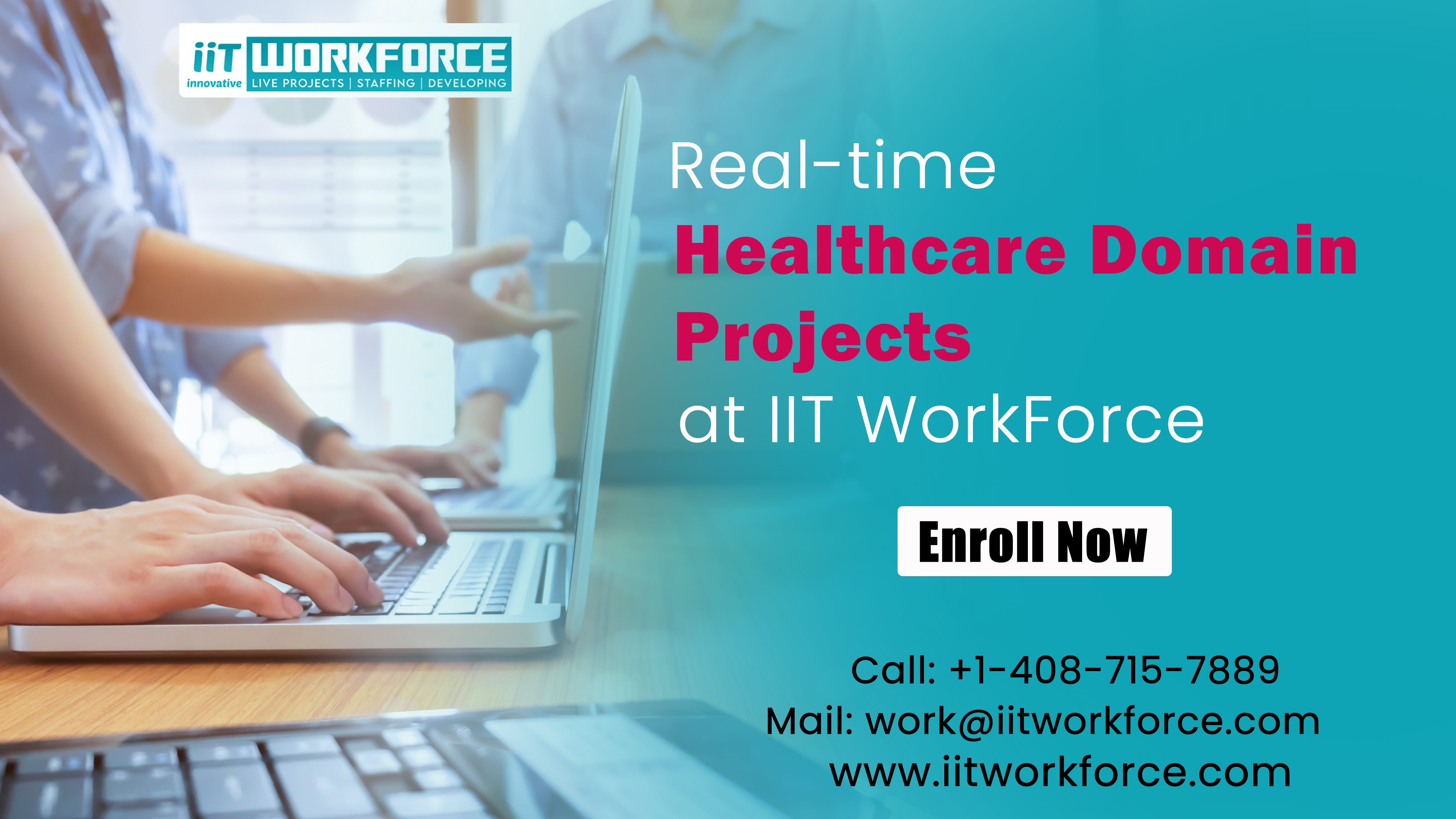 Real-time healthcare domain projects at iiT...