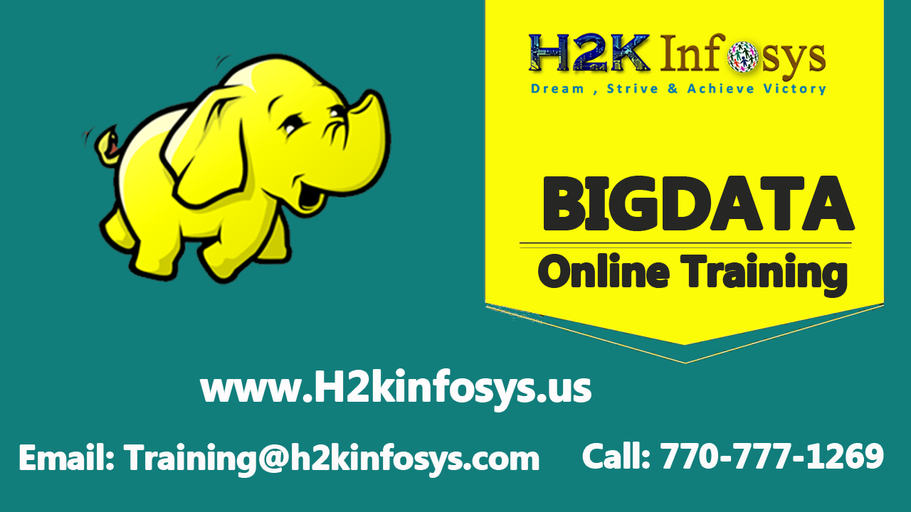 Hadoop Online Training Course in USA