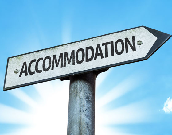 Accommodation available from july1-August1