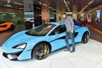 Indian Man Wins Mclaren 570s Spider Sportscar in Dubai Lucky Draw but What He Did Next Is Totally Unexpected